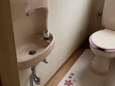 トイレ詰まり水道工事→プチリフォームのご紹介①